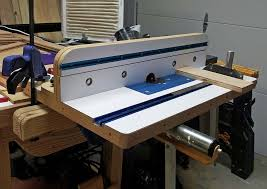 table saw router combo blue hawk brand router forums