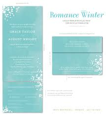 Seal And Send Invitations Seal And Send Wedding Invitations Romance Winter Wonderland By