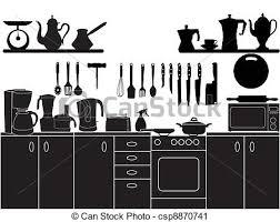illustration cuisine vecteur cuisine outils illustration cuisine clipart vectorisé