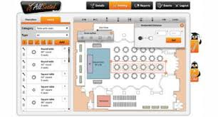 planners can now add furniture to allseated event floor plans