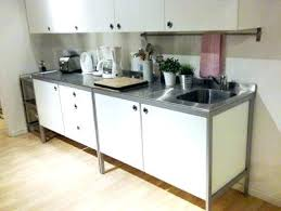 freestanding kitchen sink unit stainless steel kitchen sink unit full image for stand alone
