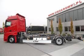 mega truck chassis mercedes benz actros 1833 e6 bdf chassis mega low deck trucks