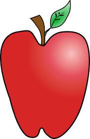 apple cartoon cartoon apple clip art at clker com vector clip art online