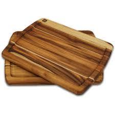 steak board plate set teak cutting board madeira housewares