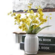 Cheap Plastic Flower Vases Online Get Cheap Plastic Flowers In Vase Aliexpress Com Alibaba
