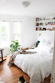 bedroom decor white bedding with color accents bedroom color