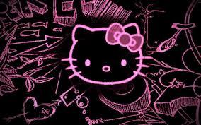 hello kitty wallpaper animal print