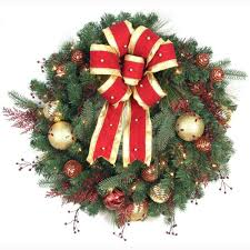 lighted wreaths prelit wreath buy