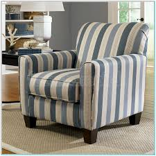 Blue And White Accent Chair Blue And White Striped Accent Chair Torahenfamilia With Best 25