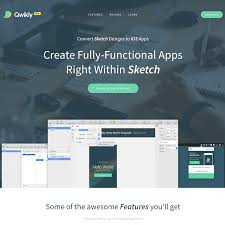 qwikly build mobile apps using sketch