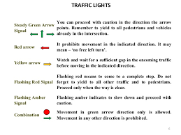 What Does A Flashing Yellow Light Mean Drivers Guide