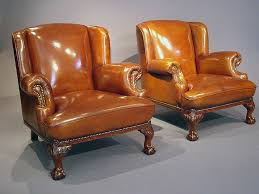 Antique Armchairs Antique Leather Armchairs Loveday Antiques