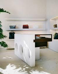 Vogue Reception Desk Interior Inspiration From Céline Boutiques Around The World