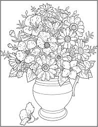 hard flower coloring pages coloring page for kids kids coloring