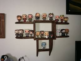timbo u0027s creations wall display shelf for funko pop figures