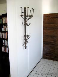 unique wall mounted coat rack home design