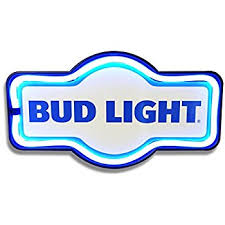 Bud Light Logo Amazon Com Bud Light Beer Happy Hour Drink Led Light Sign Home