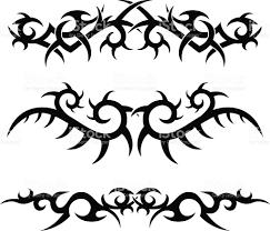 tribal tattoo designs stock vector art 165529286 istock