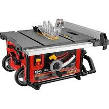 craftsman 10 portable table saw craftsman professional 10 tablesaw 21828 wood magazine