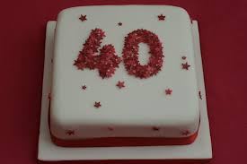 40th anniversary ideas cool wedding marriage anniversary cakes images with names