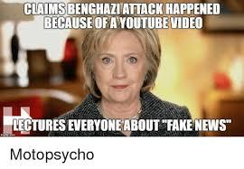 Benghazi Meme - claims benghazi attack happened because ofayoutubevideo