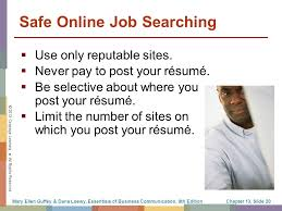 Where To Post Your Resume Online by The Job Search Résumés And Cover Letters Ppt Download