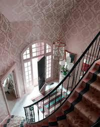 tapeten flur flur tapeten rosa tapeten mit modernem muster entrée et couloir