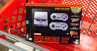 nintendo classic black friday target target super nintendo classic edition console in stock at select