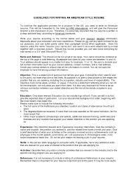 american format resume american resume style american resume format best resume and cv