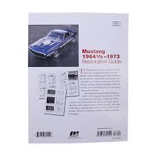 motorbooks 126531 mustang paperback mustang restoration guide 64 73