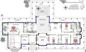 large home floor plans australian country house designs rural simple wa home
