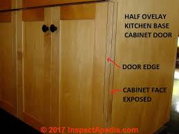 Kitchen Cabinets With Hinges Exposed Kitchen U0026 Bathroom Cabinet Door Hinges