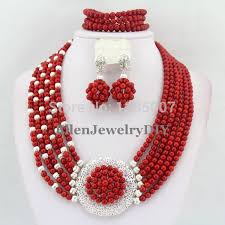 beads wedding necklace images African wedding bead necklace images jpg