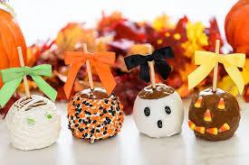 Caramel Apple Party Favors Make A Halloween Caramel Apple Boca4kids Com