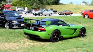 Dodge Viper Green - green dodge viper acr at ne exotic car show hd youtube