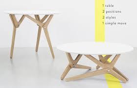 boulon blanc transformable table gadget flow