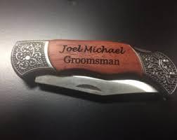 pocket knife with name engraved fancy pocket knife etsy