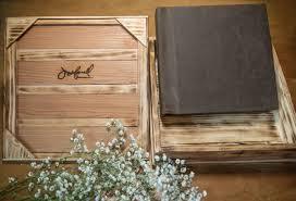 wooden photo album new custom wooden wedding album boxes