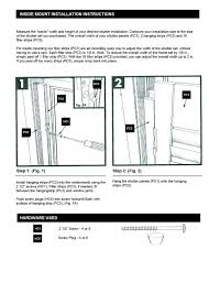 amazon com interior shutter kit 2 1 4