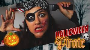 halloween pirate makeup halloween maquillage de pirate simple u0026 rapide youtube