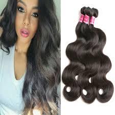 Pure Virgin Hair Extensions by Peruvian Virgin Hair Body Wave Bundles 1pc Peruvian Hair Weave
