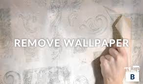 how to remove old wallpaper bauen diy home improvement