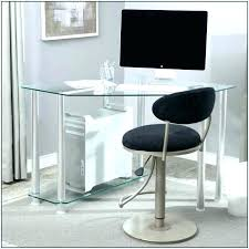 Glass Corner Computer Desks For Home Corner Glass Computer Desk Staples Small Corner Computer Desk