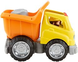amazon com fisher price little people dump truck toys u0026 games