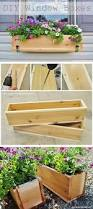 Wooden Window Flower Boxes - 25 creative window boxes hative