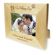 Personalized Wedding Photo Frame Wedding Day Photo Frame Wedding Bell Frame Inspiring Wedding