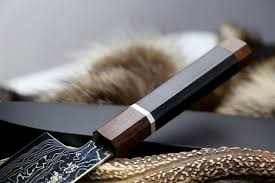 yoshihiro vg 10 damascus super forged gyuto chefs knife yew handle