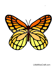 coloring page butterfly monarch crafts monarch butterfly coloring page