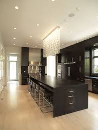 Beautiful Home Design A Dark And Handsome Kitchen Neutral Kitchen Walnut Cabinets And