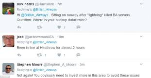 british airways black friday british airways apologise to customers facing delays daily mail